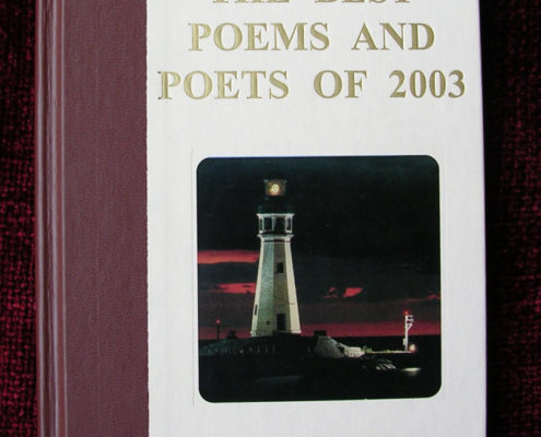 The best Poems and Poets of 2003